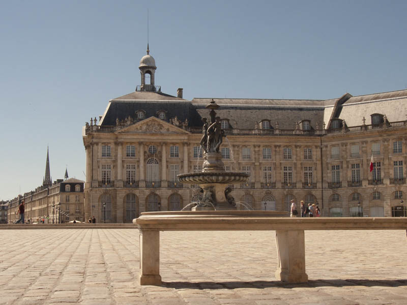 france, bordeaux, architecture