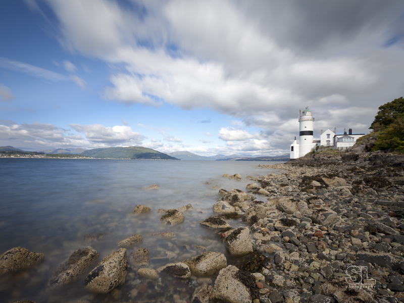 scotland, lighthouse, firth of clyde. limited edition fine art print