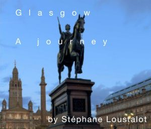 glasgow a journey book cover, a photographic journey about the growth of a city and the beauty that lies within
